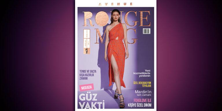 Avenue Rouge Ağustos Sayısı Yayında!